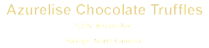 AZURELISE_Chocolate_Raleigh_NC_logo2x450